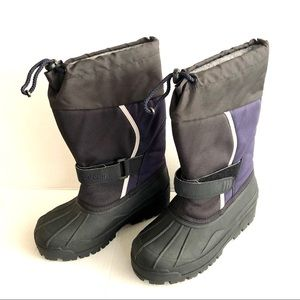LL Bean Kids Northwood Snow boots Size 2